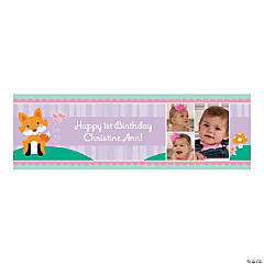 Lil' Fox Custom Photo Medium Banner