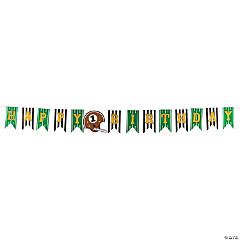 1st Birthday Touchdown Birthday Pennant Banner