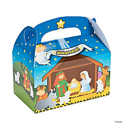 Spanish Nativity Treat Boxes