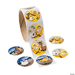 Journey to Jesus Roll of Stickers