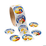 Spanish Nativity Roll of Stickers