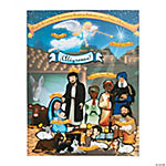 Spanish Nativity Sticker Scenes