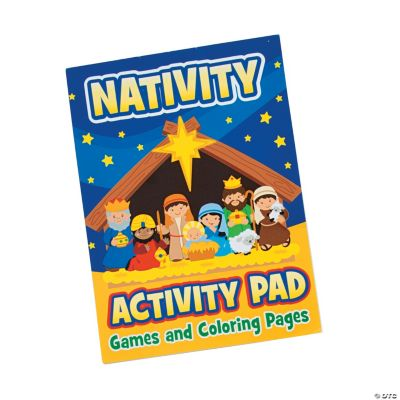 Nativity Activity Books with Stickers