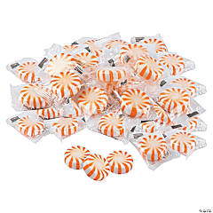 Orange Hard Candy Discs