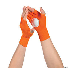 Orange Clapping Gloves