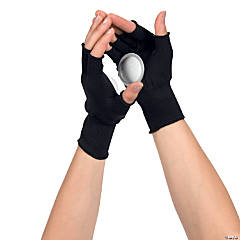 Black Clapping Gloves