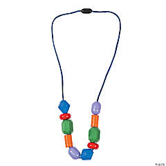 Geometric Shapes Necklace Craft Kit