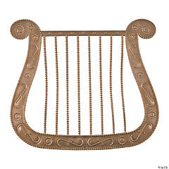Angel Harp Costume Prop
