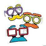 Eyebrow & Mustache Glasses for Kids