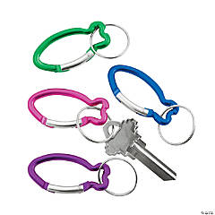 Aluminum Fish Clip Key Chains