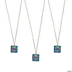 Hanukkah Charm Necklace