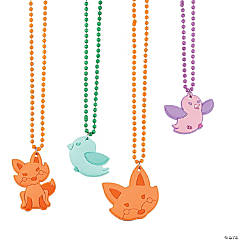Little Fox Beaded Necklaces