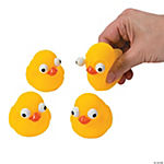 Rubber Duckies with Pop-Out Eyes