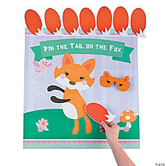 Pin the Tail on the Fox Game