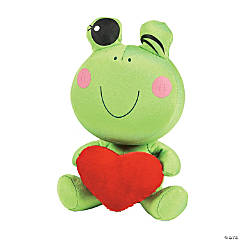 Plush Frog with Heart