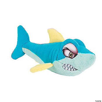 Plush blue shark oriental trading discontinued for Life size shark plush