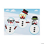 Dress-Up Snowman Mini Sticker Scenes