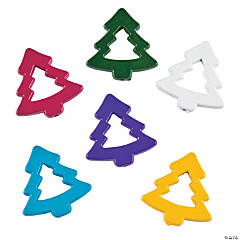 Die Cut Christmas Tree Beads