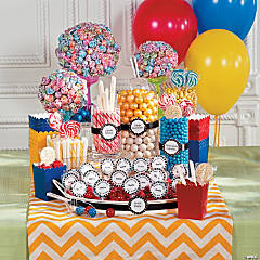 Birthday Party Candy Buffet