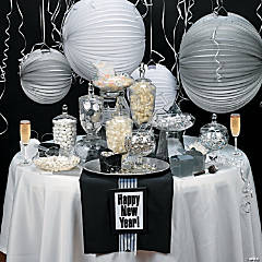 Elegant New Year's Eve Candy Buffet