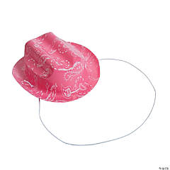 Mini Pink Cowgirl Hat
