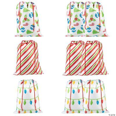 Jumbo Christmas Drawstring Bag