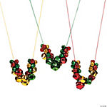 Assorted Jingle Bell Necklaces