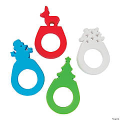 Holiday Silhouette Rings