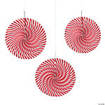 Peppermint Hanging Fans Assortment