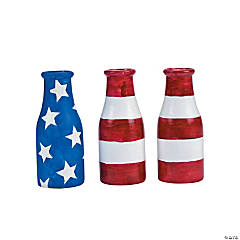 Flag Milk Bottles Idea