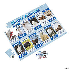 Winter Animals Floor Puzzle