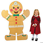 Gingerbread Man Christmas Stand-Up