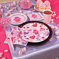 Heart Cupcake Party Supplies