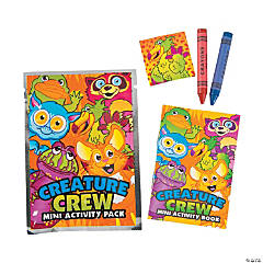 Creature Crew Mini Activity Packs