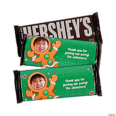 Hershey's® Personalized Gingerbread Man Bars
