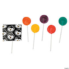 Penguin Printed Lollipops