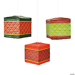Cozy Christmas Paper Lanterns