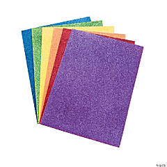 Self-Adhesive Fabulous Foam Glitter Sheets
