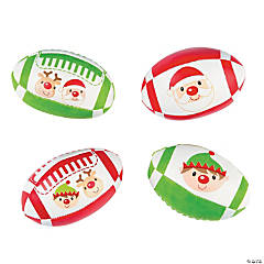 Holiday Foam-Filled Footballs