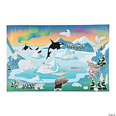 Arctic Animal Sticker Scenes