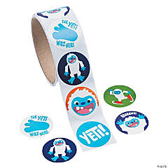 Yeti Roll of Stickers