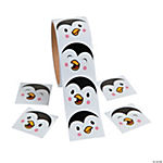 Penguin Face Stickers