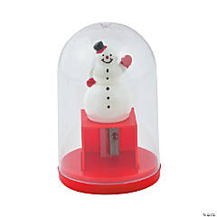 Snow Globe Pencil Sharpeners