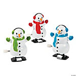 Snowman Wind-Up Characters