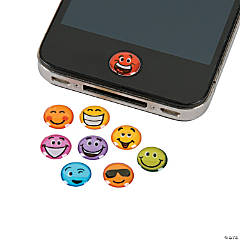 Funny Face Home Button Stickers