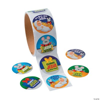 The Mouse & the Miracle Roll of Stickers