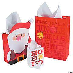 Jingle Santa Gift Bag Assortment