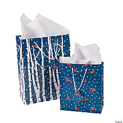 Navy Woodland Gift Bag Assortment