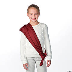 Maroon Costume Belt/Sash