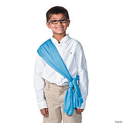 Light Blue Costume Belt/Sash